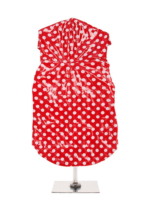 Carnaby Polka Vattentät Regntäcke - Hundkläder