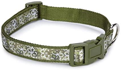 Carolina Hundhalsband - Grön