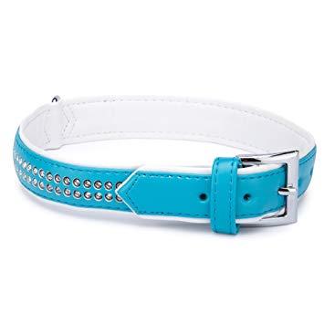 Sparkle Gemstone Halsband Blå