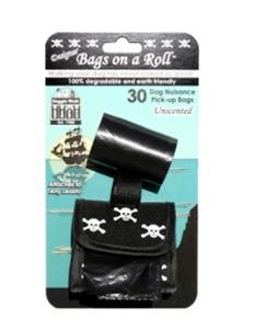 Designer Bag - Black Skull - Inne / Ute