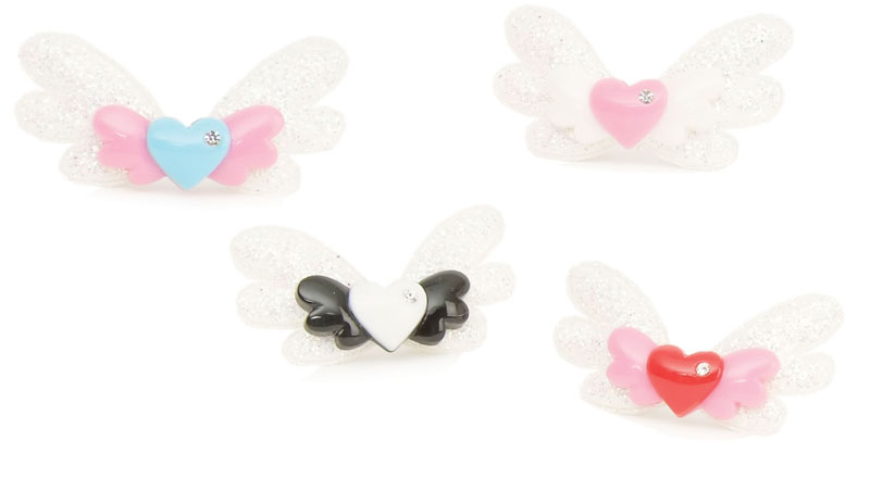 Sweetheart Angel wing Hair Clip