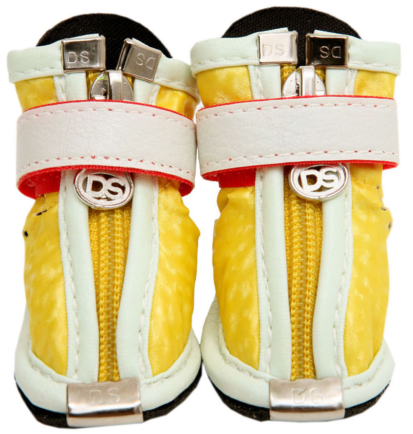 Fresh Walking Shoes Yellow
