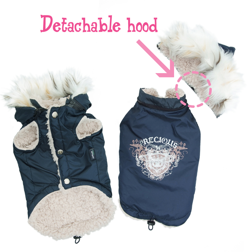 The PRECIOUS Padded Vest - Navy