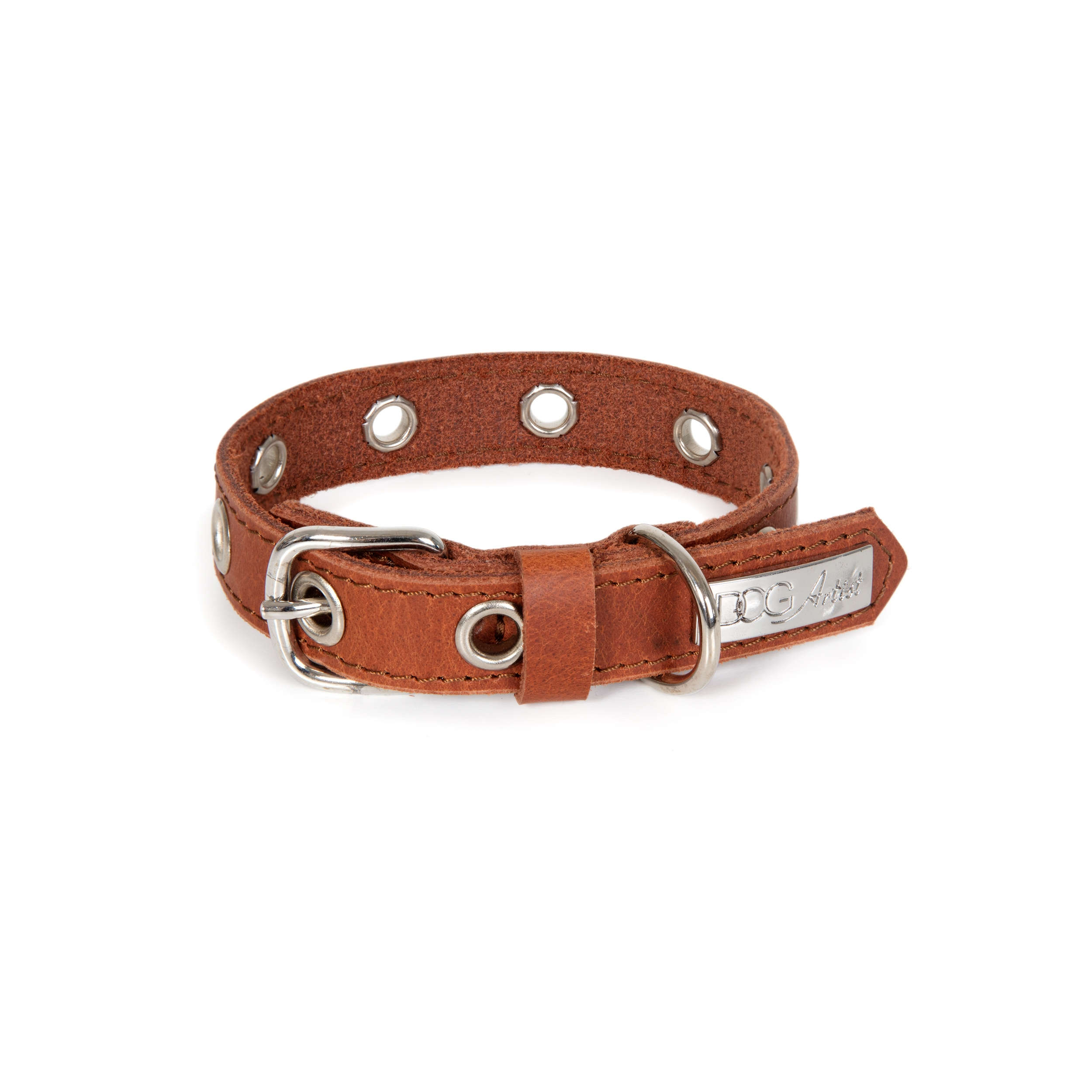 ROCK Collar Small - Brown