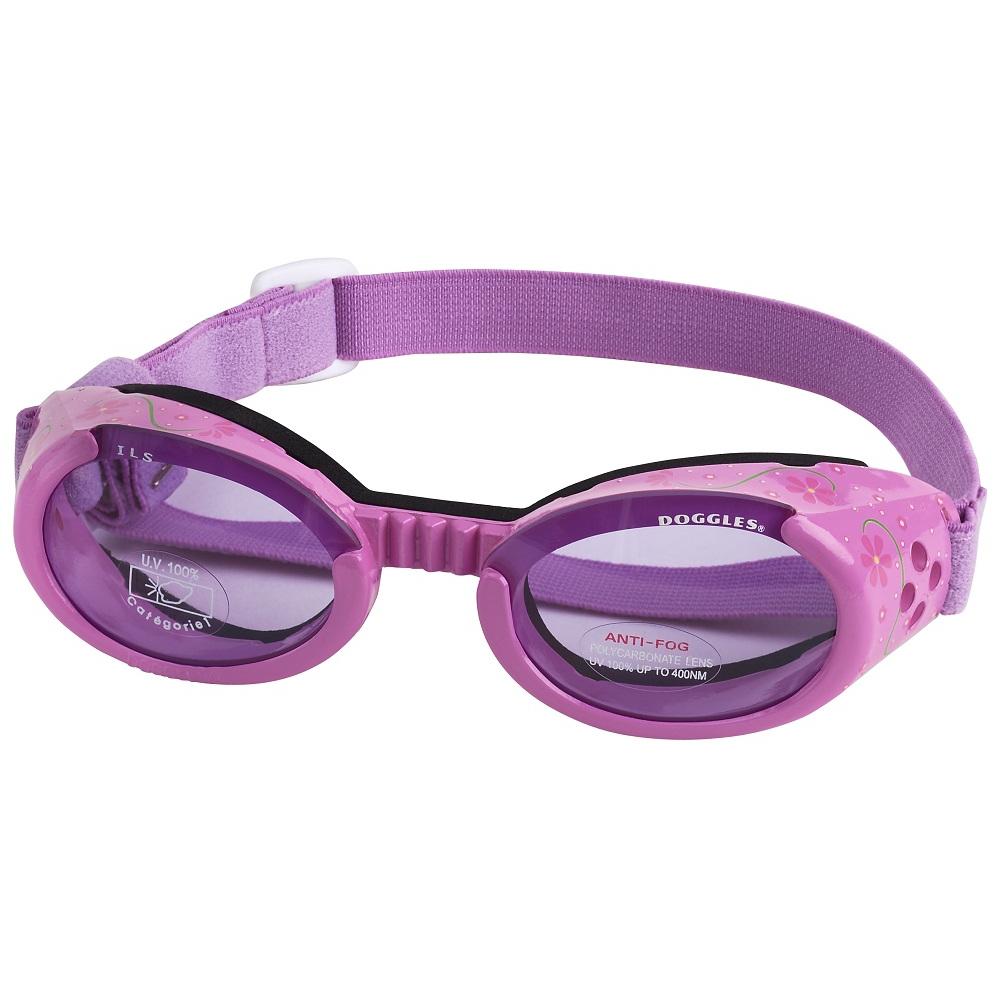 Hundglasögon ILS - Lilac Flower / Purple Lens