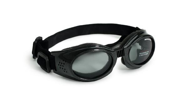 Hundglasögon Originalz - Black / Smoke Lens