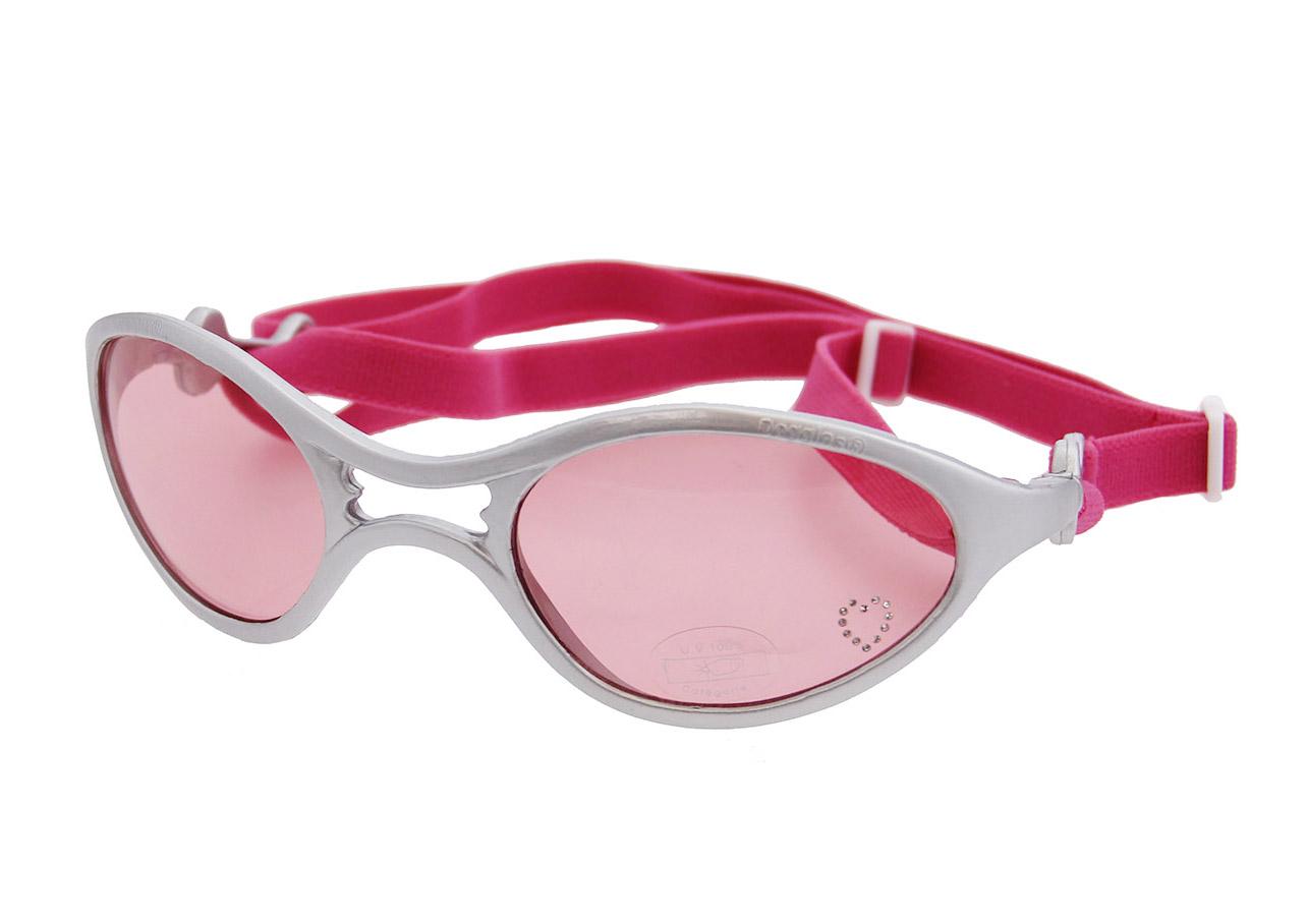 Hundglasögon Rubber K9 Optix - Shiny Silver
