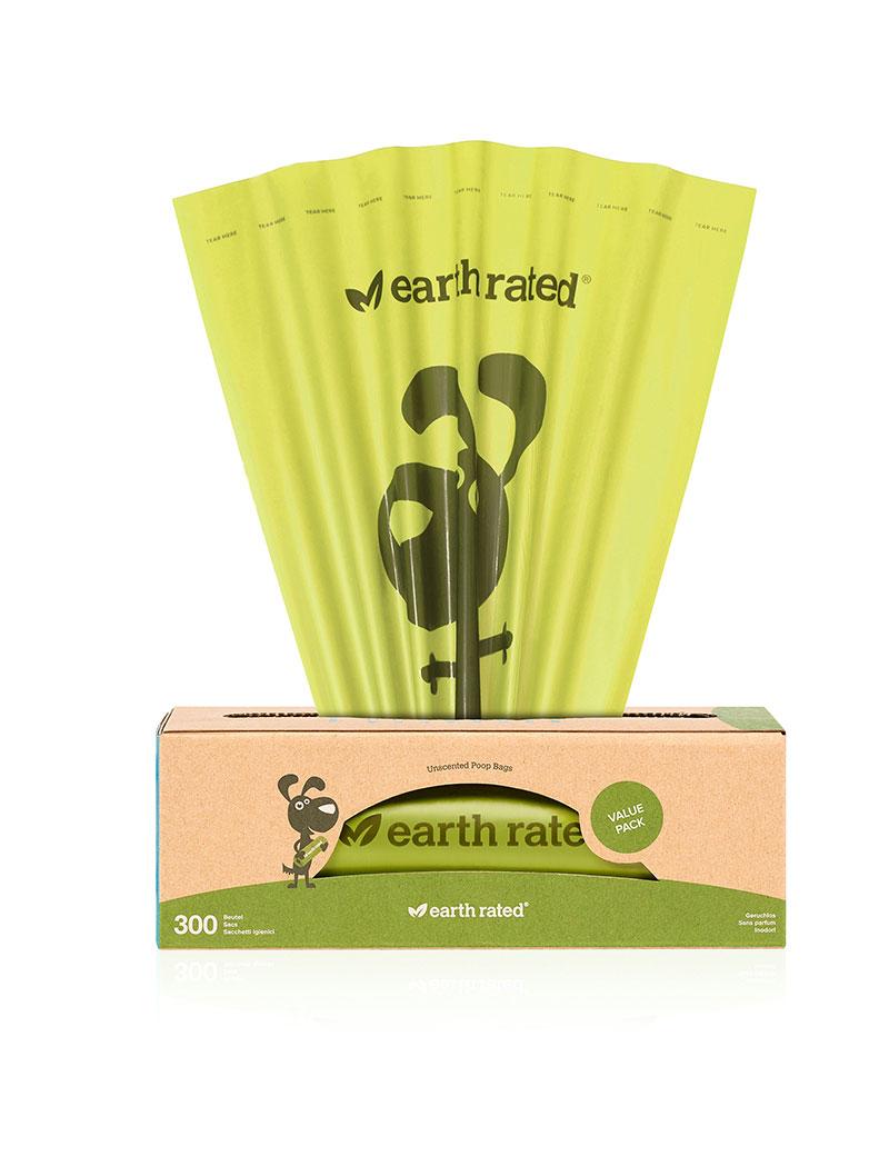 Earth Rated Miljövänliga bajspåsar 300 st