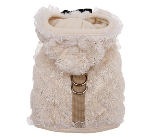 Pearl Bow Luxury Vest Harness