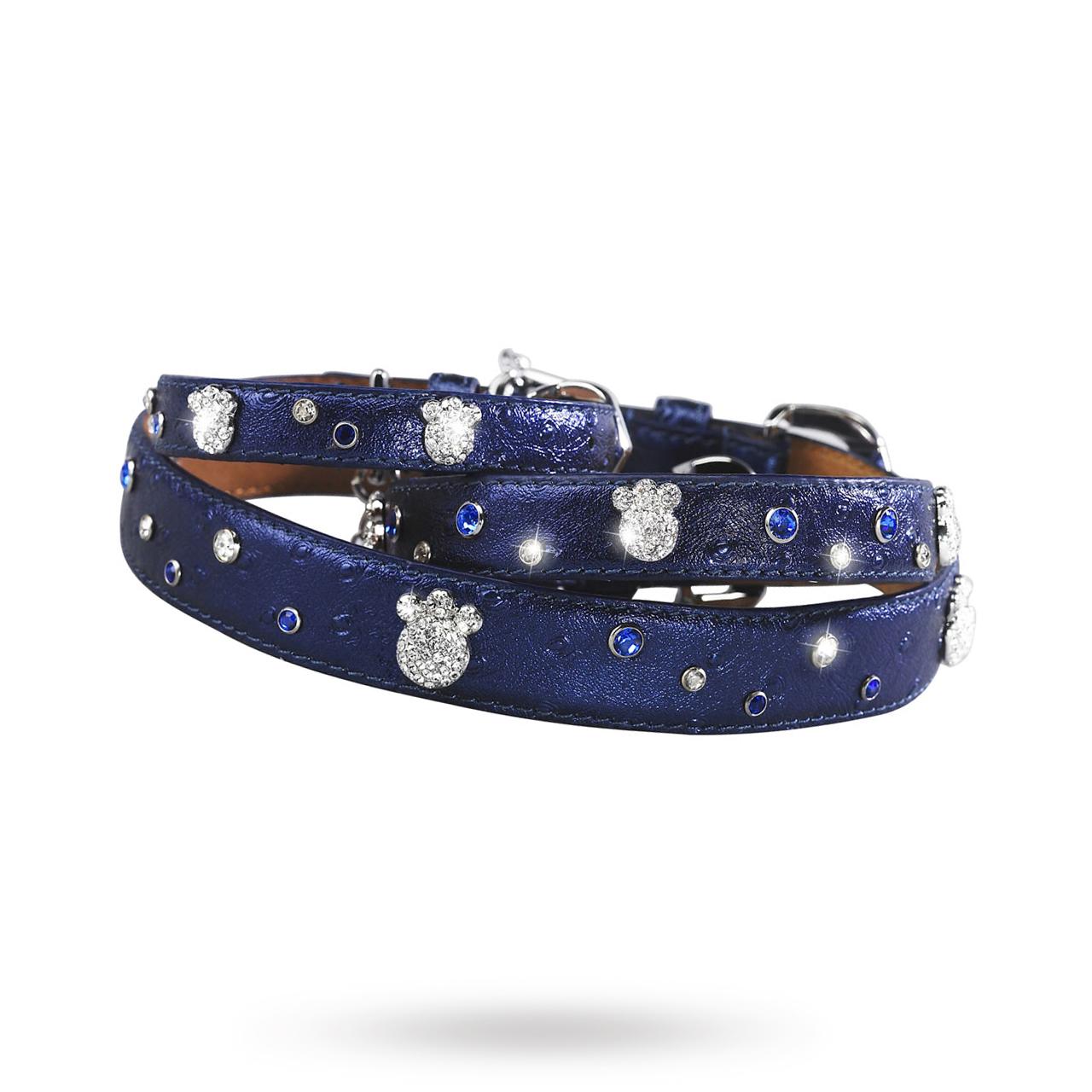 Paws and Sprinkles Halsband Mörkblå