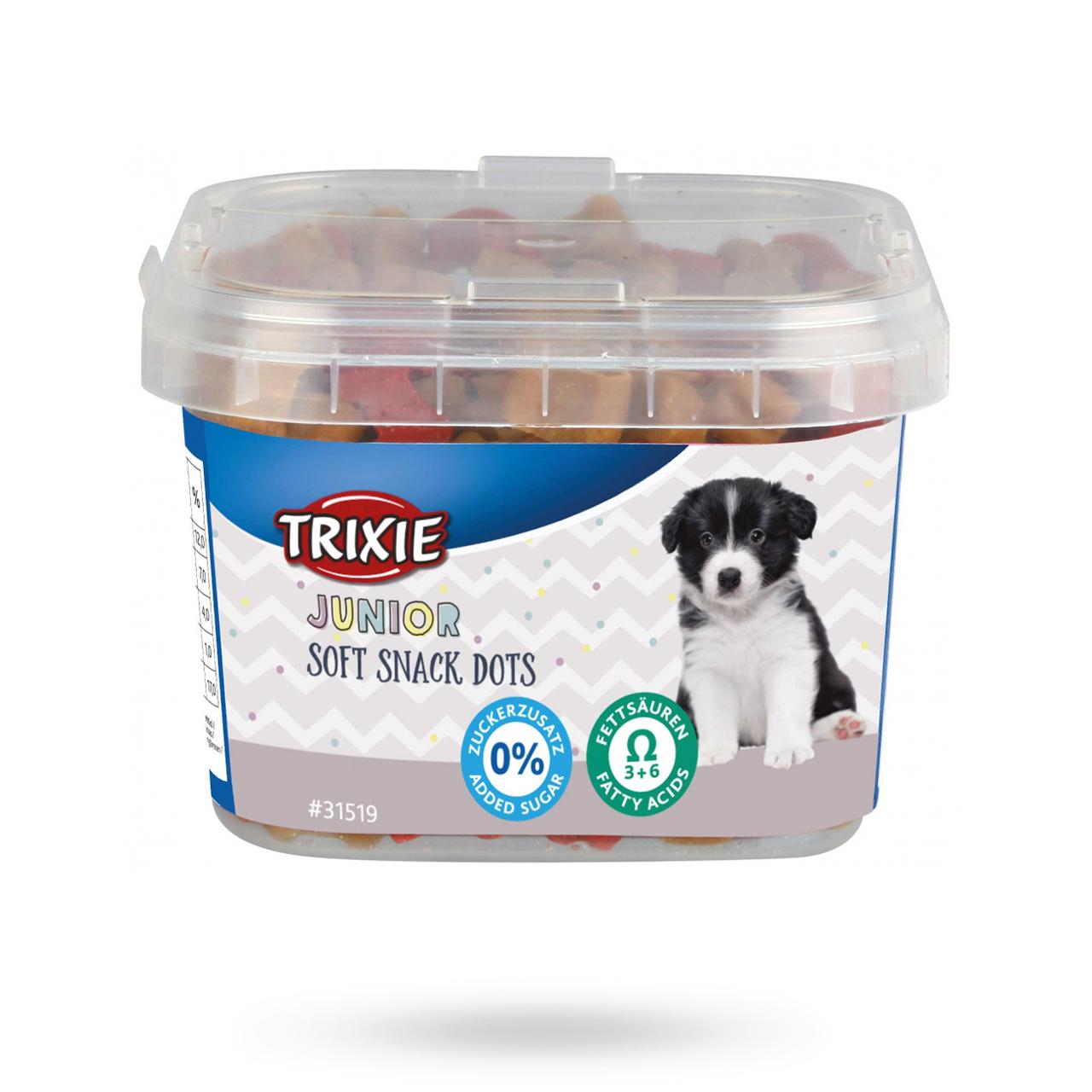 Junior Soft Snack Dots 140 g
