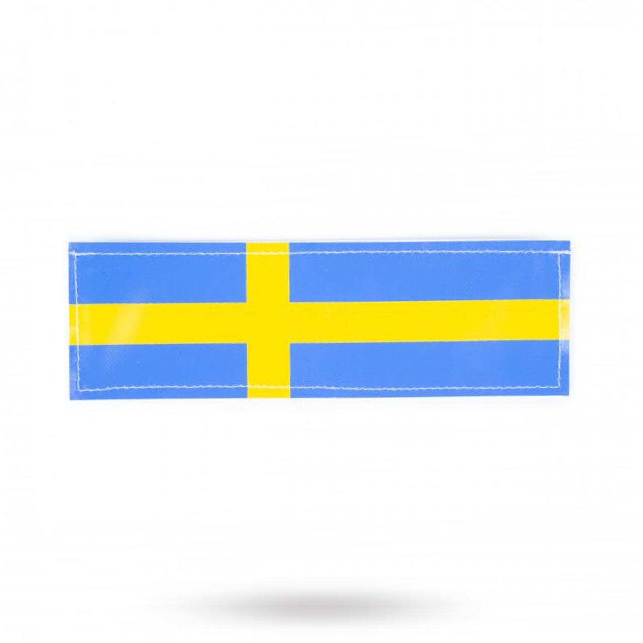 K9 Kardborremärke Svensk Flagga 2-pack