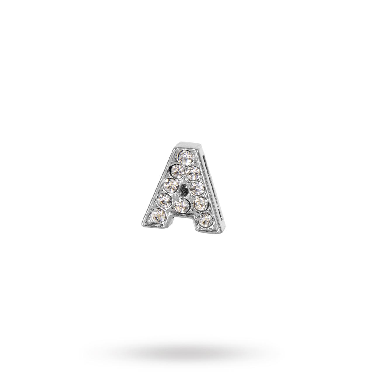 Rhinestone Crystal Letters A