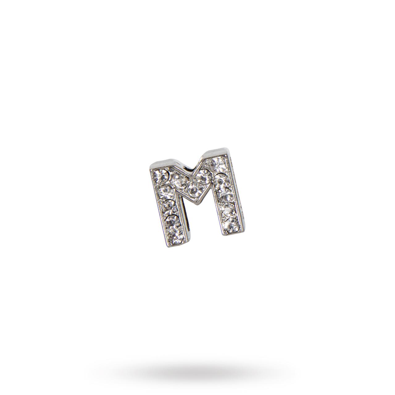 Rhinestone Crystal Letters M