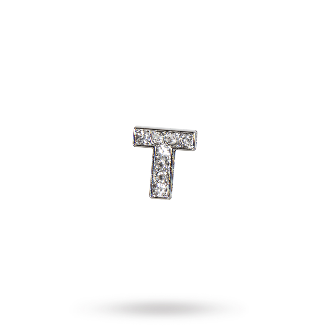 Rhinestone Crystal Letters T