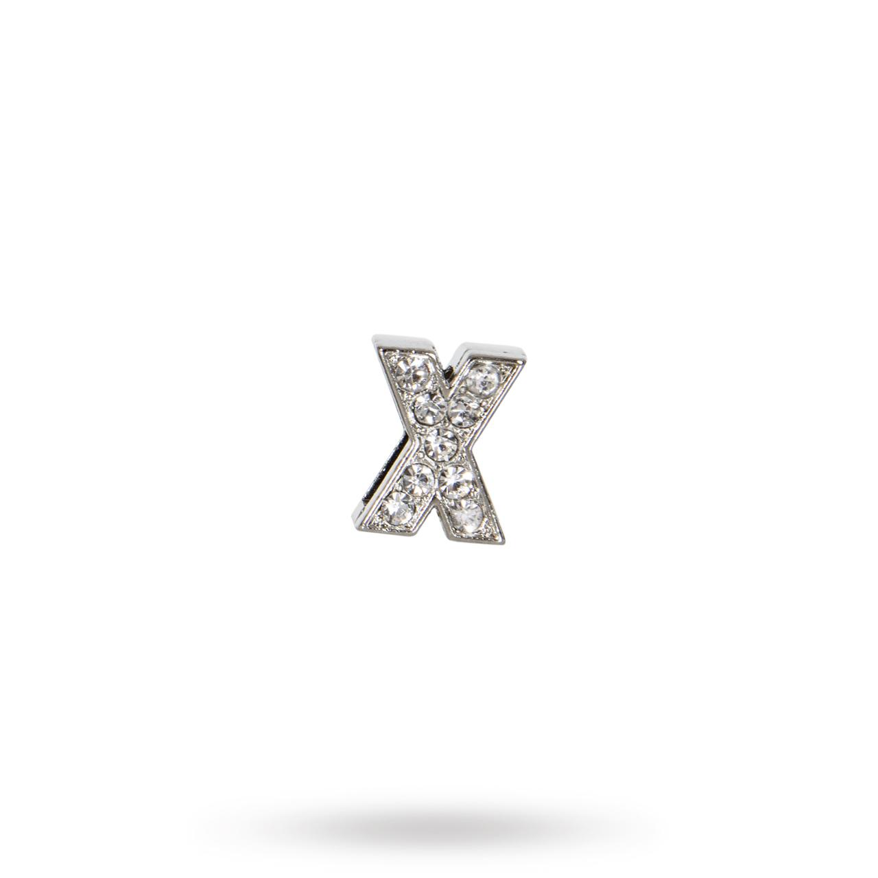 Rhinestone Crystal Letters X