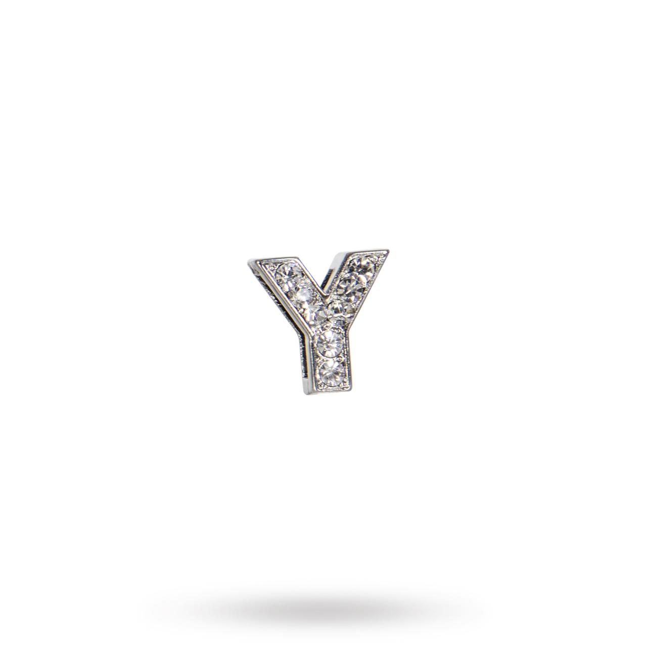 Rhinestone Crystal Letters Y