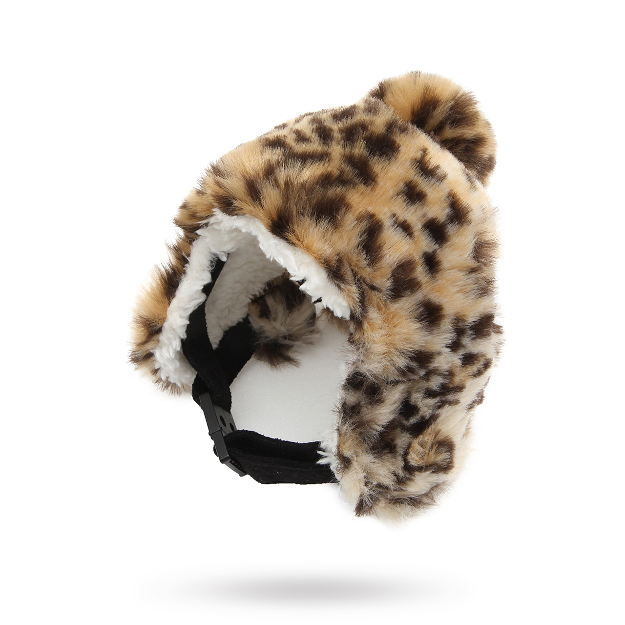 Fodrad Mössa - Leopard