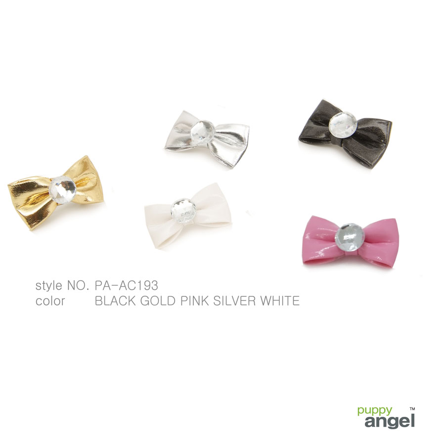 Metalic Bow Hair Clip