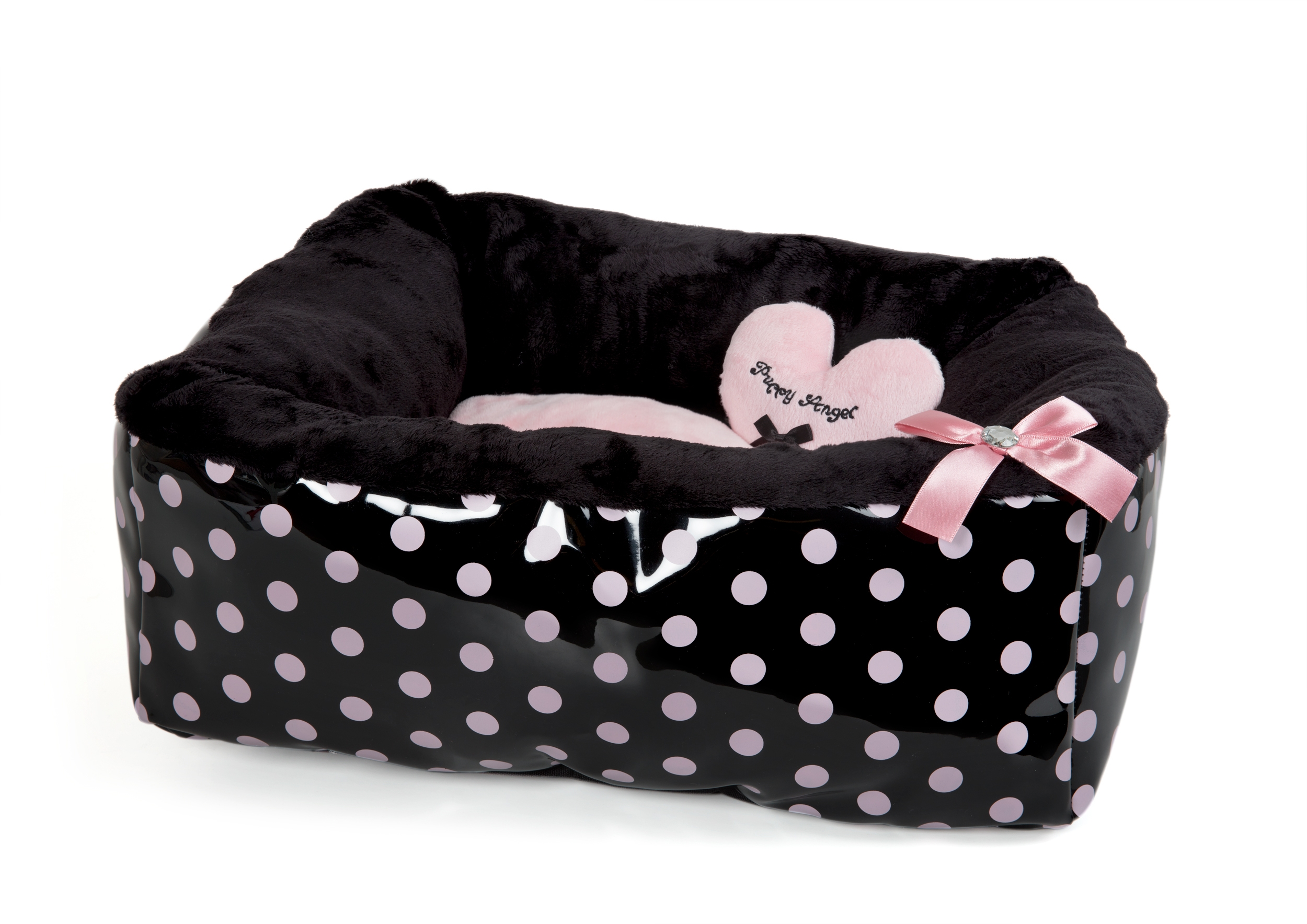Polkadot Ease Bed - Pink