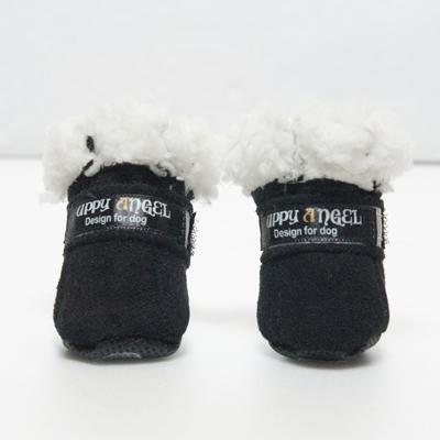 ANGIONE Hundskor - Svart Medium - Hundkläder