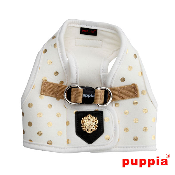 MODERN DOTTY Harness B - White