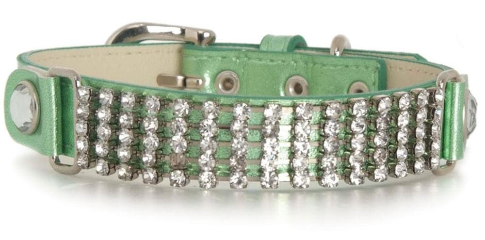 Colourful Diamond Collar Svart - Large