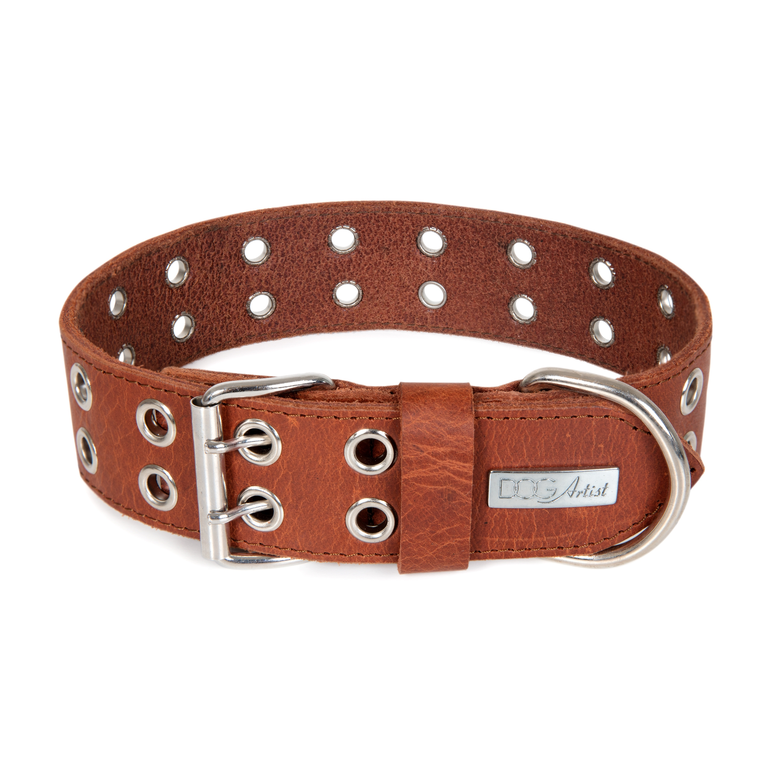 ROCK Collar Large - Brown