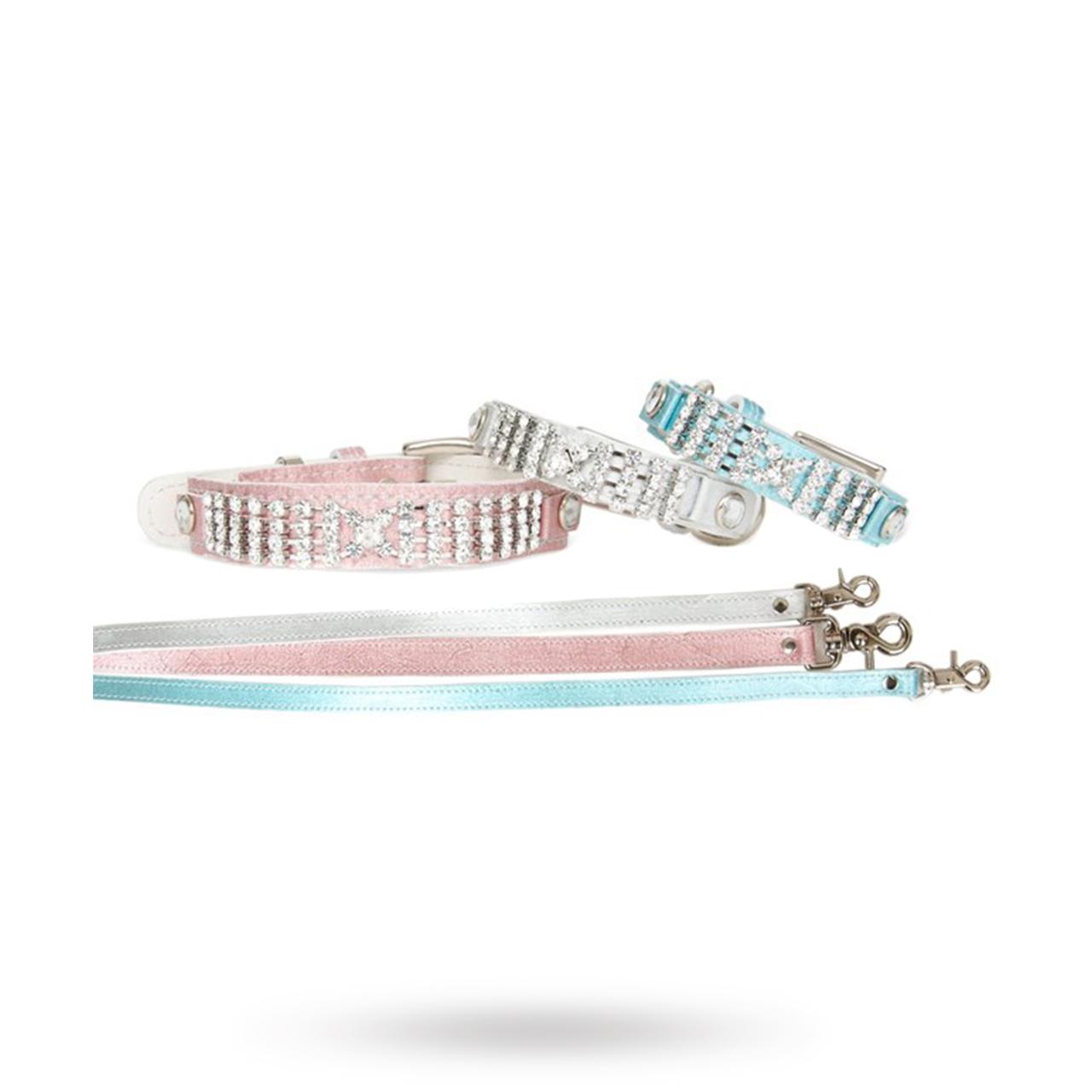 PA Shiny Luxury Collar Silver - XL