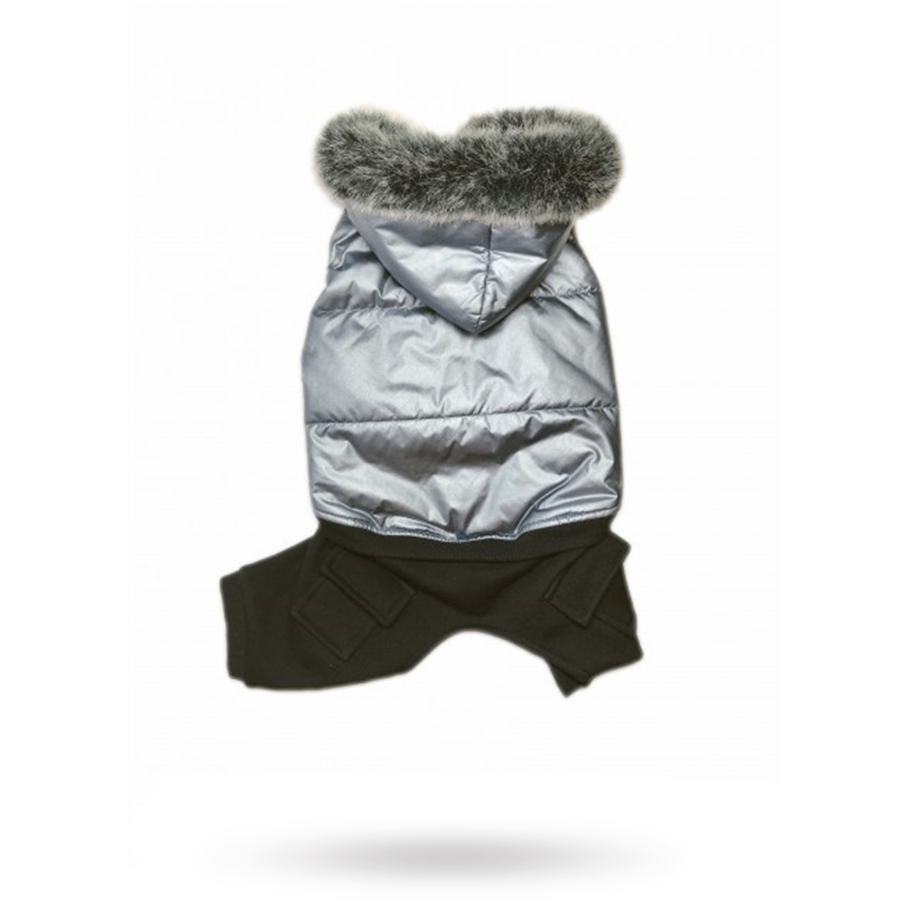 Stout Padded Overalls Small Grå