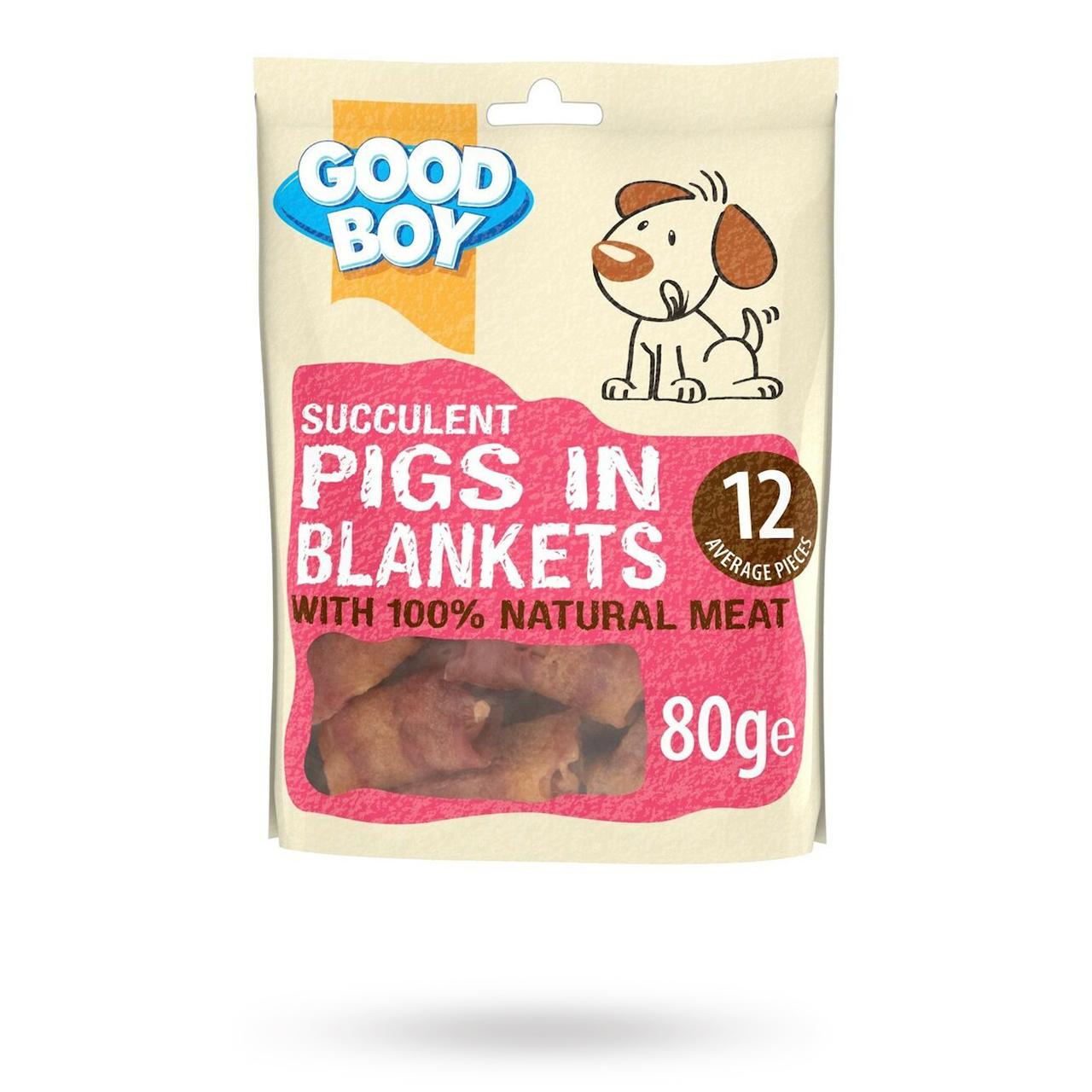 Succulent Pigs In Blankets 80g - Mat / Godis