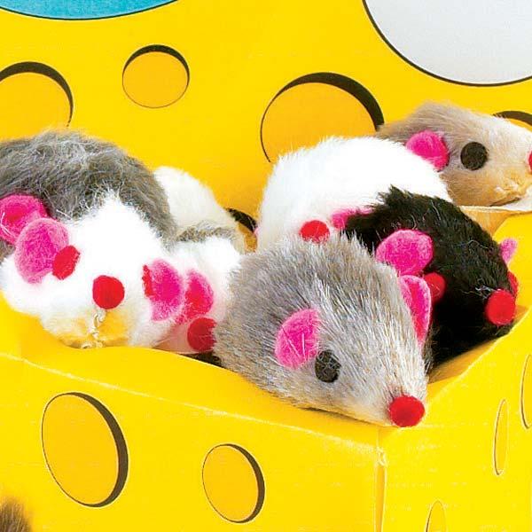 Zanies Furry Mice