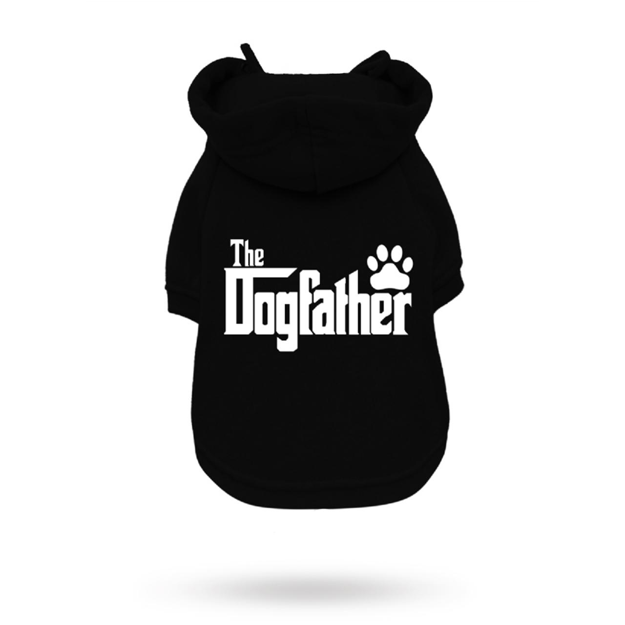 The DogFather Hoodie Svart