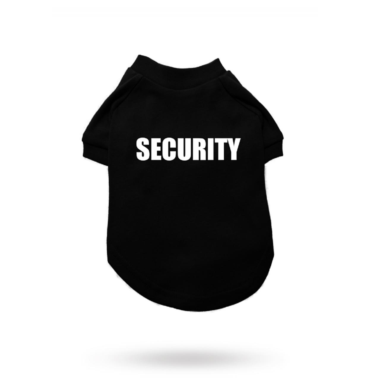 Dog T-shirt Security
