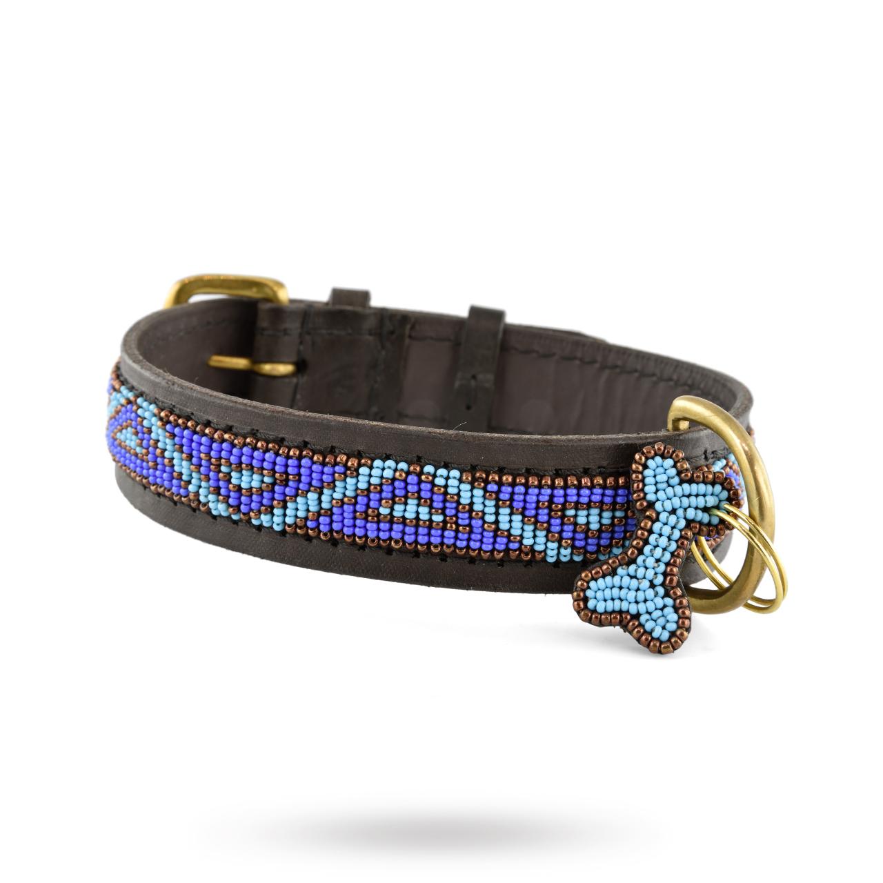 Halsband Kabaka Blue