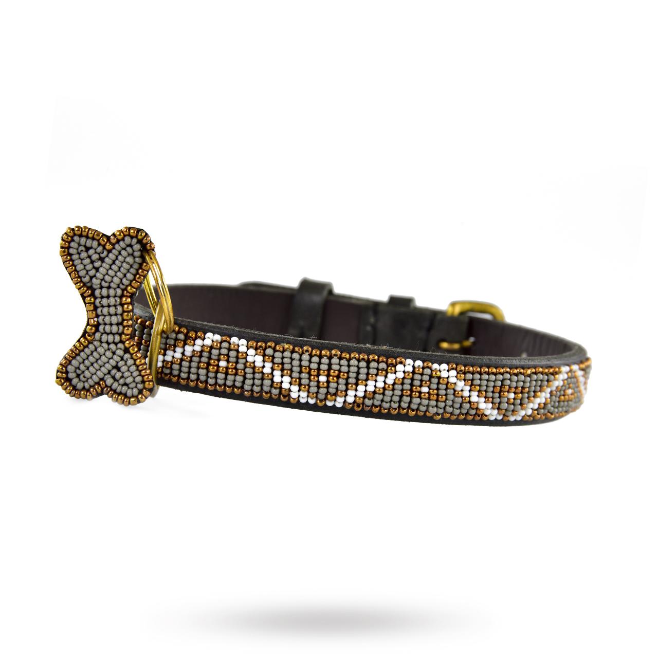 Skinny Halsband Kabaka Mist
